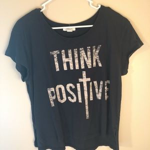 Think Positive Tee